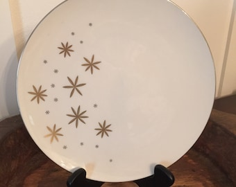 "Vintage 1960's Lenox 10 1/2"" Dinner Plate in Alaris Pattern A-501"