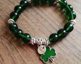 Good Luck Shamrock Bracelet