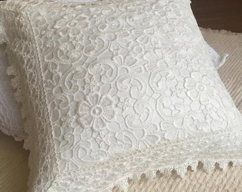 Simply Lace Decorative Throw Pillow Cover