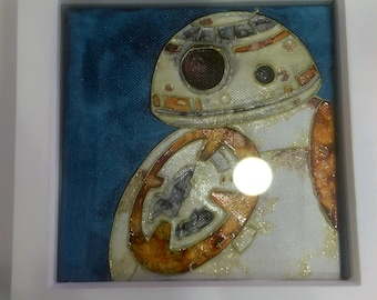 Star Wars BB8 Canvas