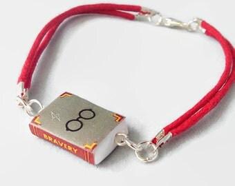 Spell book bracelet (Harry Potter inspired)