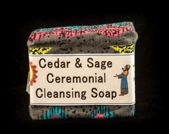 Cedar and Sage Ceremonial Cleansing Soap