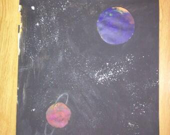 Space Painting 2: Rings