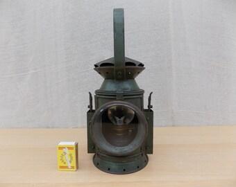 Vintage MOD Railway Signal Lamp