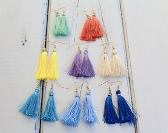 Raleigh Tassel Earrings