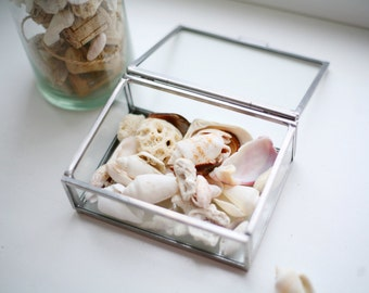 Glass box/ Small glass box/ Glass ring box