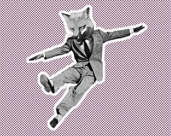Footloose Fox, Pink