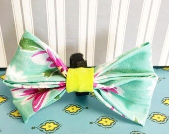 Spring has Sprung! Double Bow Tie