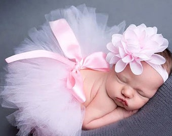 Baby Headband and Tulle skirt