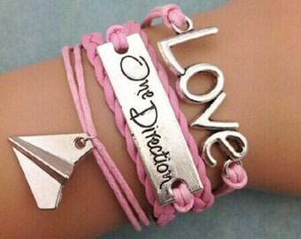 One Direction Bracelet, pink