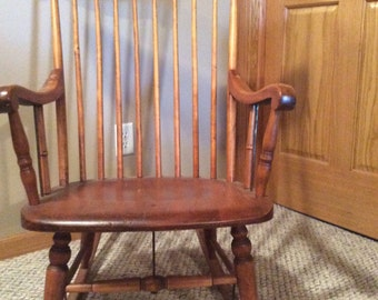 Antique Adult Rocking Chair