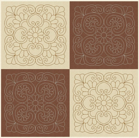 Quilting Trapunto Designs : Quilt Blocks Embroidery Designs Quilting by EmbroideryByLada