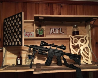 Hidden Gun Safe Etsy