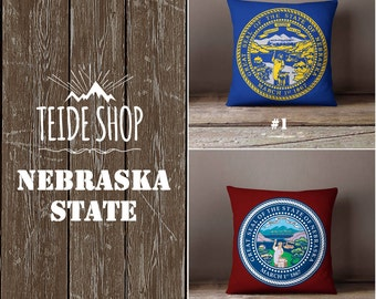 Nebraska native etsy Home decor lincoln ne