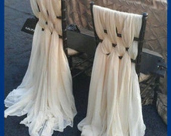 Wedding Event Chair Cover and Sashes, Sweetheart Table, made to order