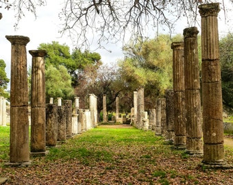 Ancient/Olympia/Greece/Art/Photography/History/Deco/Room/Nature/Relax/Calm/Free