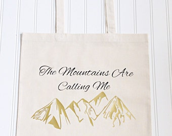Mountain Lover Tote Bag