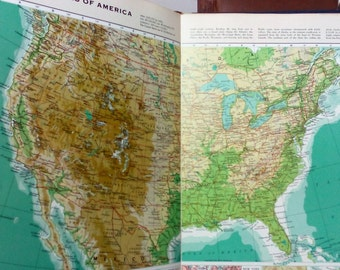 Readers Digest Great World Atlas 1974 edition FREE POSTAGE