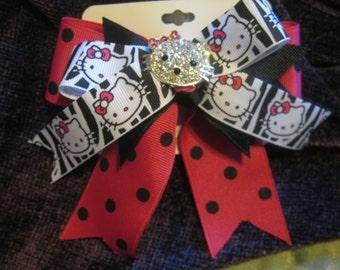 Hello Kitty Rhinestone  Bow