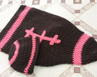 Crochet Football sleep sack