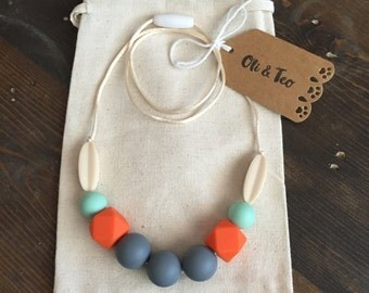 Teething Necklace, Nursing Necklace