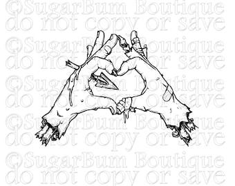 Zombie Love svg