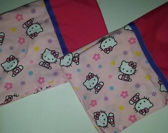 Hello Kitty/ light pink/standard size/set of 2 pillowcases