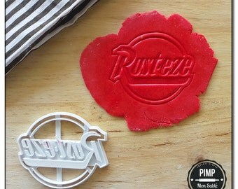 "Cookie Cutter Cars Stamp ""Rust-Eze"" / Set fondant"