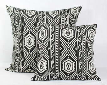 Black and white pillow cover 20x20 throw pillow covers 18x18 pillow covers 16x16 pillow covers 26x26 pillow covers 24x24 pillow case covers