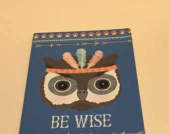 A5 Be Wise Notebook