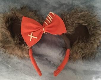 Ewok Mickey Ears* (*Runner's Edition)