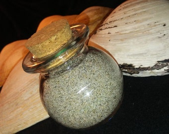Bottle of Beach Sand ~Respectfully Collected in NH~