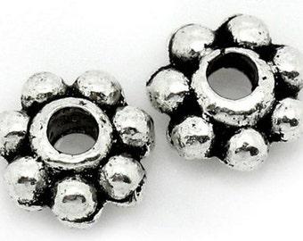 Flower Spacer Beads