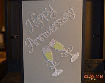 Unique Happy Anniversary Card