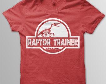 Jurassic World shirt Raptor Trainer shirt Jurassic World t-shirt