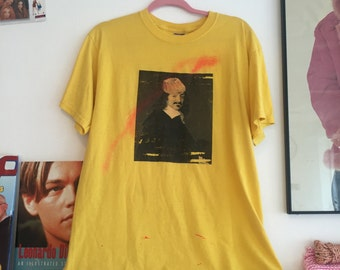 Vintage Yellow Graphic Tee