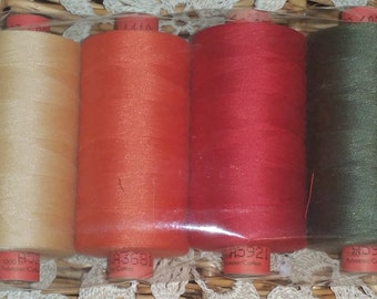 Rasant 120 Cotton Sewing Thread 4pack