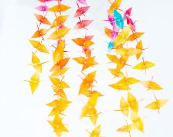 Colorful Mobile Origami Crane