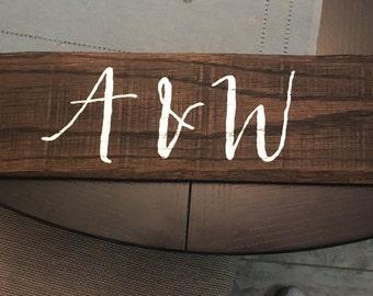 Custom Arrows To Wedding Venue, Rustic Wedding Arrows