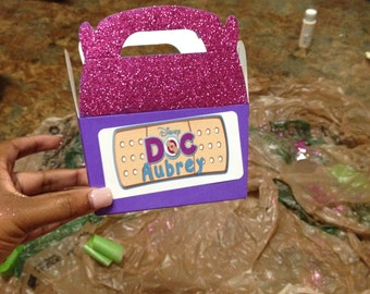 Doc Mcstuffins Personalized Party Boxes