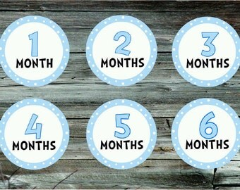 Baby monthly milestone stickers. Baby onsie stickers. Baby month stickers. Monthly milestone stickers. Baby stickers. Tummy Tokens.