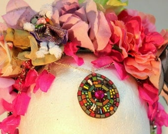 Colorful Flowers Crown