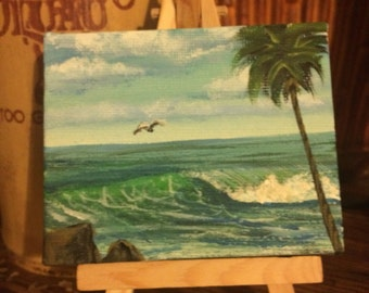 Small ocean painting