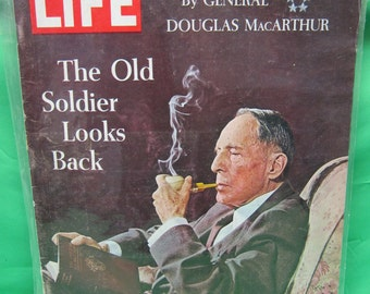 Life Magazine January 10 1964 The Old Soldier Looks Back