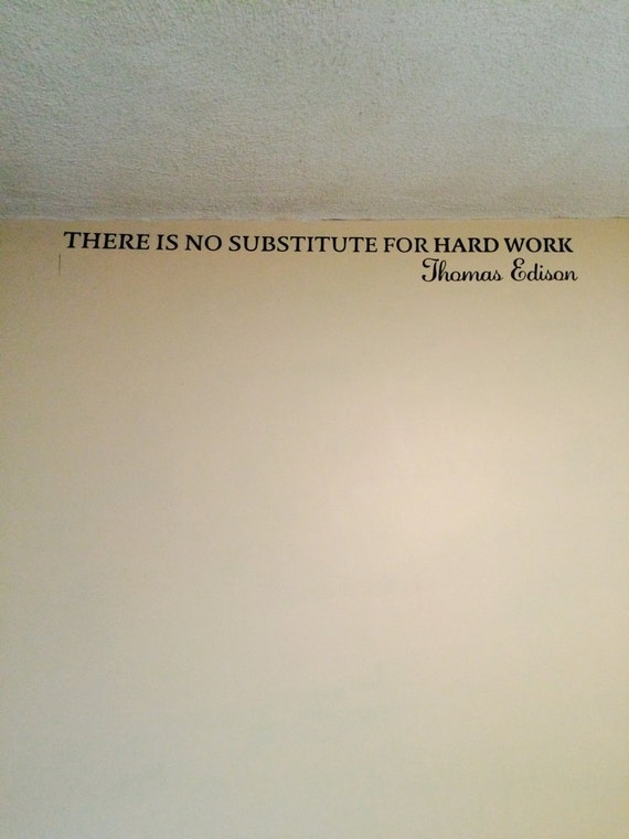 """thomas edison and hard work Thomas edison inspirational  thomas edison thomas edison was perhaps one of the greatest inventors the world  """"there is no substitute for hard work."""