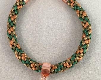 Camo Kumihimo Bracelet