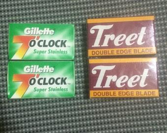4 Pack Treet Blade / 7O'Clock Blade