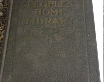 Vintage 1920 Book 1 of The Peoples Home Library
