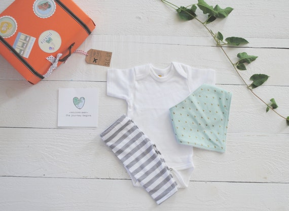 Baby Gifts For Gender Neutral : Items similar to gender neutral baby gift welcome