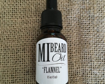 "MI Beard Oil ""Flannel"""